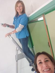 2019-04-04 pintura Polop La Caixa 1