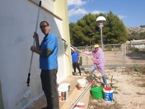 2019-04-04 pintura Polop La Caixa 3