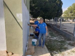 2019-04-04 pintura Polop La Caixa 4