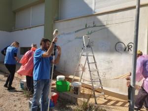 2019-04-04 pintura Polop La Caixa 5