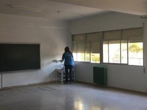 2019-04-04 pintura Polop La Caixa 8